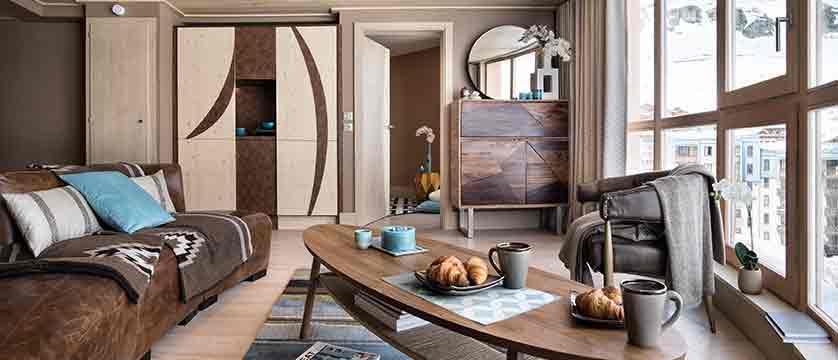 Hotel Le Taos - apartment living room